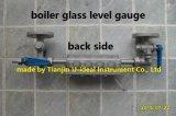 (Due) Calibro bicolore del livello d'acqua per la caldaia