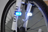 Silicona Bicicleta luz trasera de la lámpara