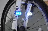 Silikon-Fahrrad-Lampen-hinteres Licht
