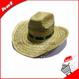 Chapéu de Palha natural chapéu de cowboy promocionais