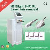 Máquina Painless do laser da remoção do cabelo de H8 Shr IPL