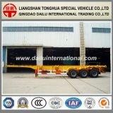De 3 des essieux 40FT châssis de conteneur de squelette remorque semi et remorque de camion