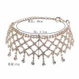 Ожерелье чокеровщика нового Tassel диаманта конструкции 2017 полного разнослоистое