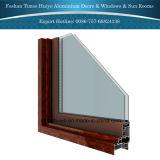 Puerta de aluminio del metal de la puerta del marco de la puerta de aluminio del perfil