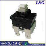 Pousser sur-off Spst 16A 1E4 Interrupteur bouton poussoir électrique