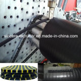 HDPE hohle Wand-Wicklungs-Rohr-Strangpresßling-Maschinerie