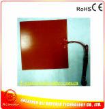Termistore 100k del riscaldatore 12V 350W 340*340*1.5mm 3m della stampante del silicone 3D