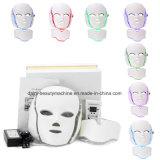 7カラーPDT光子LED顔マスクの皮の若返りのしわの取り外しの電気Anti-Aging美装置
