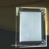 Het AcrylFrame die van het Kristal van het bureau LEIDENE Lichte Doos adverteren