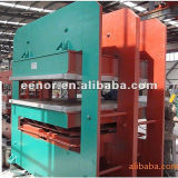 Rubber Mat hace la máquina / Caucho Teja vulcanización Máquina de la prensa