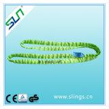 2t*10m doppeltes Augen-Polyester-rundes Riemen-Sicherheitsfaktor-6:1
