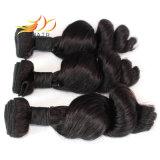 Virgem indiano trama de cabelo solto cabelo natural da onda não transformados
