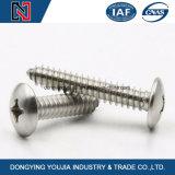 Vis à tête ronde encastrée en acier inoxydable DIN7985