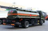 유조 트럭 15kl 기름 수송 트럭이 Dongfeng에 의하여 15000 L 급유한다