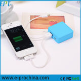 최신 판매! iPhone 6 Plus를 위한 은행 Mobile Charger 2600 mAh 3000 mAh 2000 mAh Mini Design Protable를 강화하십시오