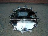 Aço inoxidável Sanitária Manhole Cover com pressão (600104)
