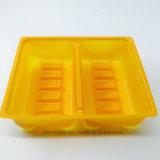Belüftung-Blasen-Kunststoffgehäuse-Geschenk-Kasten-Ladeplatten-Tellersegment für Salat