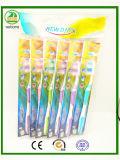 OPP Beutel-Verpackung mit Schutzkappen-Erwachsen-Zahnbürste
