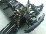 1/10th Do chassi elétrico sem escova do metal da potência do carro da escala RC velocidade rápida 4X4 2.4G