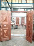 Portello di rame puro del portello di obbligazione di disegno semplice di alta qualità per noi villa