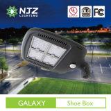 150W Shoebox Bereich, der Außen-LED-Beleuchtung UL, Dlc Prämie verzeichnet beleuchtet