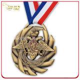 Изготовленный на заказ выбитое античной медаль покрынное бронзой