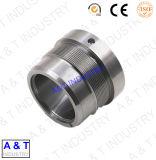 L'aluminium de précision personnalisé par commande numérique par ordinateur/acier inoxydable en laiton//pompe partie le cube en travers