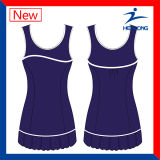 소녀를 위한 테니스 치마의 Healong 승화 운동복