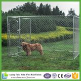Produits les plus vendus China Supplier Galvanized Dog Kennel / Cage Wholesale
