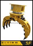 Fornecedor de peças de escavadeira Stone Grab Rotary Rock Grapple