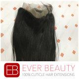 Frontal pieno brasiliano del merletto dei capelli umani di Remy del Virgin