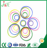 De RubberO-ring van het Silicone EPDM FKM met Geel/Groen/Bruin/Zwarte