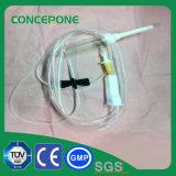 使い捨て可能な医学のIV液体3方法管