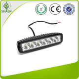 18W Flood DRL do feixe de luz diurna