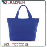Sacchetto di acquisto non tessuto della mano della tela di canapa del cotone del cuoio del sacchetto di acquisto dello zaino (X010B)