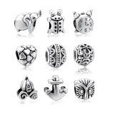 De Armbanden van vrouwen 925 Echte Zilveren Europese Armbanden van Charmes