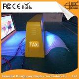 지대 960X320mm를 위해 광고하는 P5 풀 컬러 택시 LED 표시