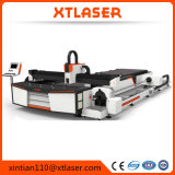 Cortador caliente del laser del CNC del tubo del metal de Saled, cortadora del laser de la fibra para el aluminio, acero, tubo del metal