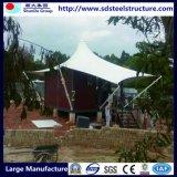 Дом проекта Новой Гвинеи стальная Prefab передвижная