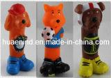 Animaux chien en vinyle de jouets, de jouets pour animaux familiers