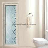 Porte intérieure en aluminium de salle de bains avec le prix promotionnel