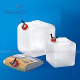 8L / 10L15L approuvé par la FDA PE / PVC Outdoor Camping Snaptable Water Container