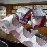 Fournisseur de vente en gros estampé par coutume de tissu de salle de bains de la Chine