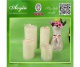 Se adhieren Forma blanca 40g velas sin llama para Libia