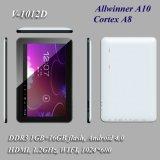 HD Screen+1GB Memory+16GB Flash+Android 4.0の10インチのタブレットのPC