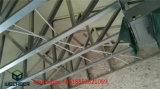 Chalet ligero moderno prefabricado del acero de la luz de la casa de la estructura de acero