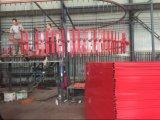 La costruzione provvisoria rivestita del PVC riveste la rete fissa di pannelli
