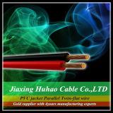 2X1.0mm2; 2X1.5mm2; 2X2.0mm2; 2X2.5mm2; De parallelle Tweeling Vlakke Kabel van de Draad/van de Spreker