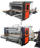引くことのティッシュ機械を作る浮彫りになる折る機械チィッシュペーパー