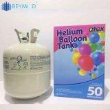 13,4 litros Balão de hélio descartável cilindro de gás hélio para a parte